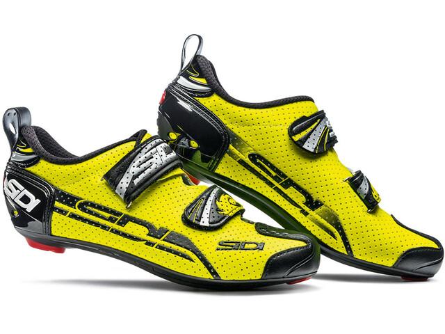 Sidi T-4 Air Carbon Shoes Men Yellow/Black